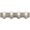 This item: Dalwood Classic Pewter 32-Inch Four-Light Bath Light