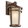 This item: Atwood Brown Stone One-Light 8-Inch Outdoor Wall Mount
