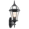 This item: New Street USA Black Three-Light Outdoor Wall Mount
