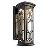 This item: Franceasi Dark Sky Olde Bronze One-Light LED 18-Inch Wall Mount