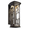 This item: Franceasi Dark Sky Olde Bronze One-Light LED 22-Inch Wall Mount