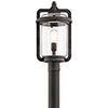 This item: Andover Weathered Zinc 10-Inch One-Light Outdoor Post Lantern