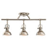 This item: Polished Nickel Three-Light Fixed Rail