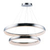 This item: Innertube Satin Nickel 31-Inch Two-Light LED Multi-Light Pendant