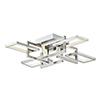 This item: Link Satin Nickel Eight-Light LED Flush Mount
