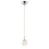 This item: Tangent Polished Chrome LED Mini Pendant with Faceted Glass