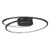 This item: Cycle Black 18-Inch LED Flush Mount