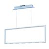 This item: Rhombus Matte White Nine-Light LED Linear Pendant Energy Star
