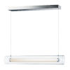 This item: Centrum Polished Chrome 35-Inch LED Linear Pendant