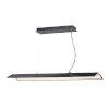 This item: Glider Black and Polished Chrome One-Light LED Multi-Light Pendant