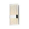 This item: Charm Polished Chrome Two-Light ADA LED Wall Sconce