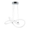 This item: Tracer Polished Chrome 23-Inch LED Pendant