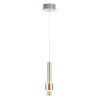 This item: Reveal Satin Nickel and Satin Brass 3-Inch LED Pendant