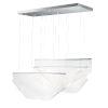 This item: Soji Polished Chrome Three-Light LED Linear Pendant