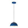This item: Hemisphere Gloss Navy and Aluminum 9-Inch LED Pendant