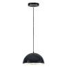 This item: Hemisphere Gloss Black and Aluminum 14-Inch LED Pendant