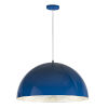 This item: Hemisphere Gloss Navy and Aluminum 31-Inch LED Pendant
