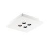 This item: Dwell White Four-Light LED Flush Mount