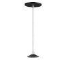 This item: Black and Polished Chrome One-Light LED Mini Pendant