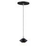 This item: Black and Polished Chrome One-Light LED Mini Pendant