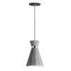 This item: Sash Gray Concrete and Polished Chrome 8-Inch LED Pendant