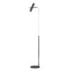 This item: Ambit Black and Satin Nickel Two-Light LED Floor Lamp