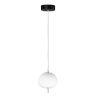 This item: Penta Black and Gold One-Light LED Pendant