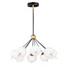 This item: Quest Black and Gold Eight-Light LED Mini Pendant