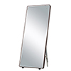 This item: Mirror Anodized Bronze 28-Inch One-Light ADA LED Free Standing Mirror