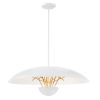 This item: Sun Core Sand White With Honey Gold 26-Inch LED Pendant