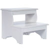This item: Melrose Cottage White Step Stool