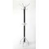 This item: Logan Black and Silver Coat Rack