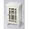 This item: Baxter Glossy White Chairside Chest
