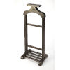 This item: Brown Valet Stand