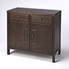 This item: Loft Imperial Coffee Console Cabinet