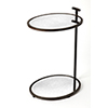 This item: Butler Loft Bronze Ciro Mirror and Metal Side Table