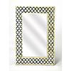 This item: Bone Inlay Black Yasmin Wall Mirror