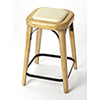 This item: Butler Loft Natural Wood Fermi Counter Stool