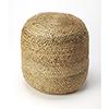 This item: Natural Noosa Jute Pouf
