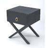 This item: Blue 22-Inch Accent End Tables