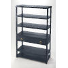 This item: Blue Shelves and Bookcases Free Standing