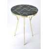 This item: Green Accent End Table