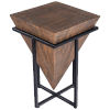 This item: Gulnaria Brown and Black End Table