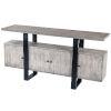This item: Raitis Gray and Black Sideboard