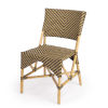 This item: Designers Edge Ciel Brown and Beige Dining Chair
