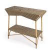 This item: Designers Edge Ciel Brown and Beige Bar Cart