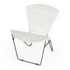This item: Accent Seating Felix White and Black Accent Chair