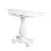 This item: Millard Cottage White 38-Inch Demilune Demilune Console Table