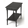 This item: Masterpiece Easterbrook Black End Table