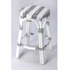 This item: White 24-Inch Counter Bar Stool